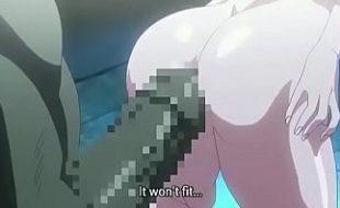 Hentai porno cacete grande demais comendo a elfa