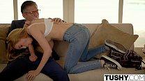 Película porno video sexo anal com novinha de calcinha